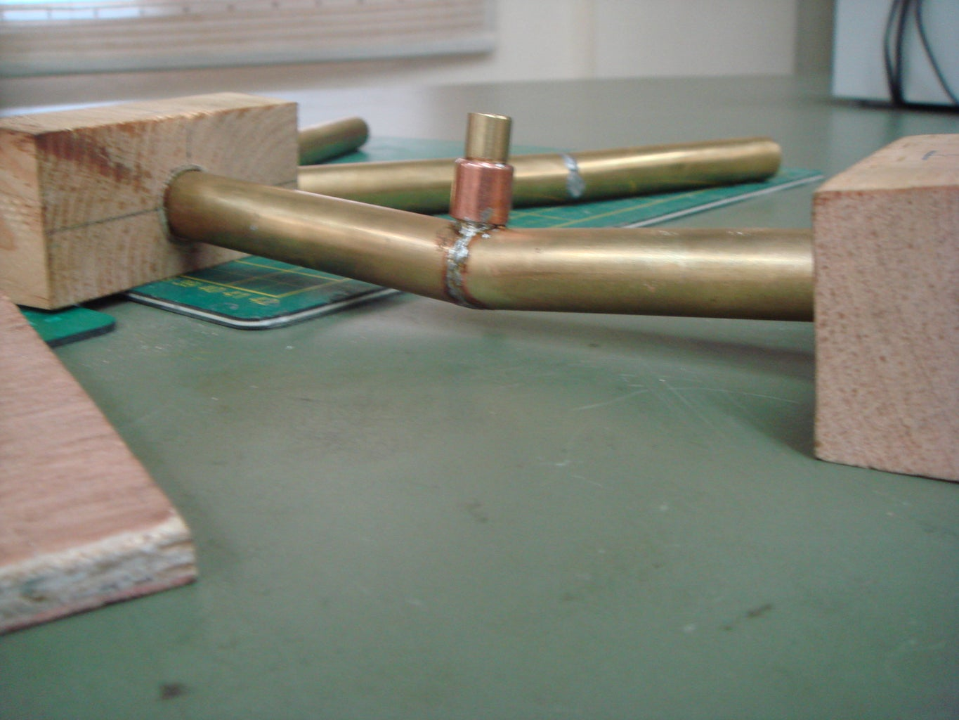 Building What We Call the 'VT- Hub' and Brass Pipe Soldering