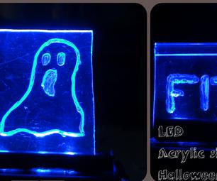 LED Acrylic Sign-Halloween
