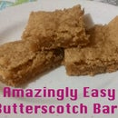 Amazingly Easy Butterscotch Bars