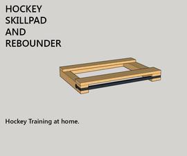 Hockey Skill Pad and Pass/Rebounder