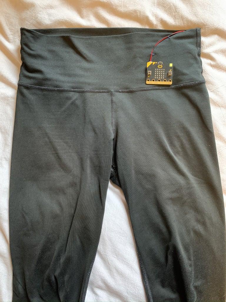Activity Tracker + Yoga Pants