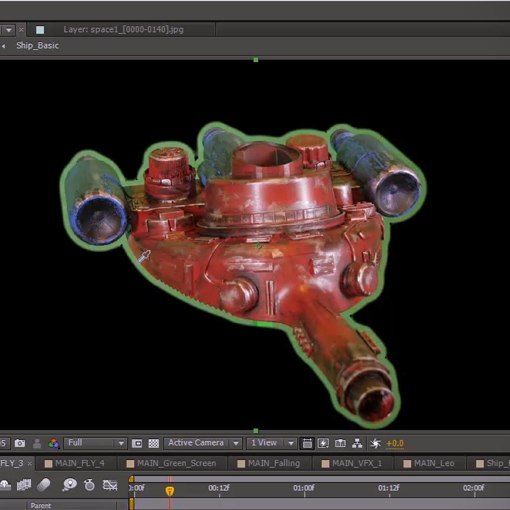 VFX Green Screen (Optional)