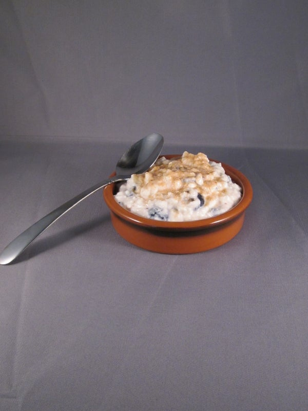 Blueberry Cottage Cheese Dish