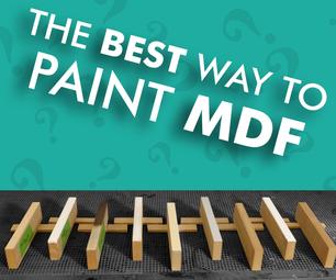 油漆mdf的最佳方式是什么?- 测试9种方法