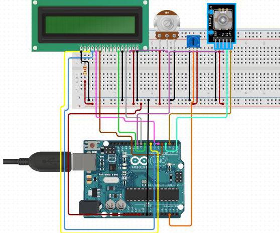Rotary Encoder Using Arduino