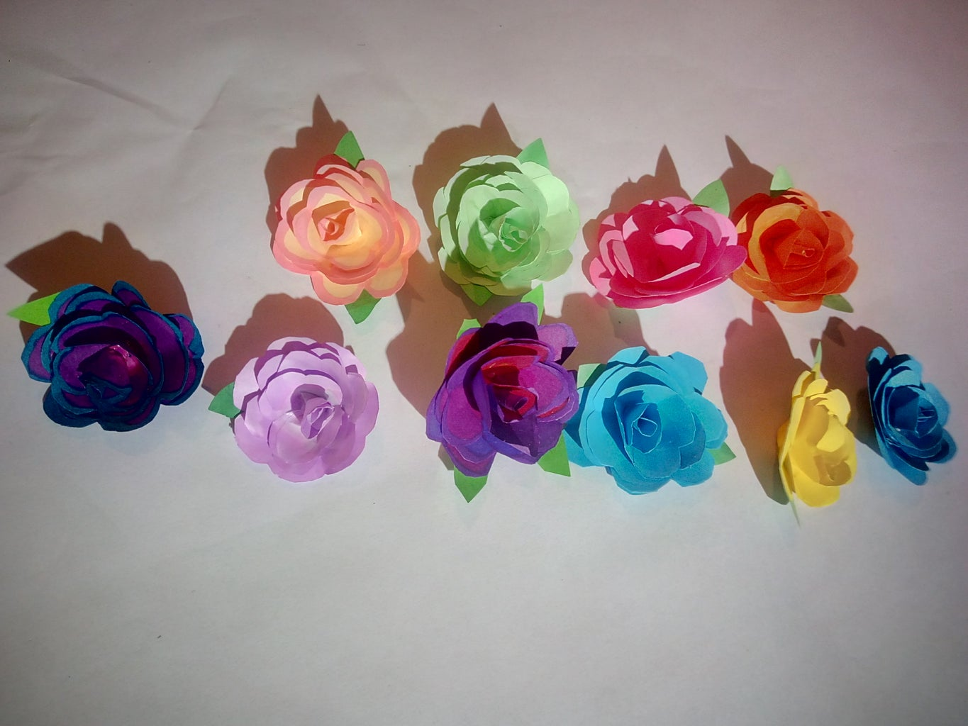 Making the Flowers