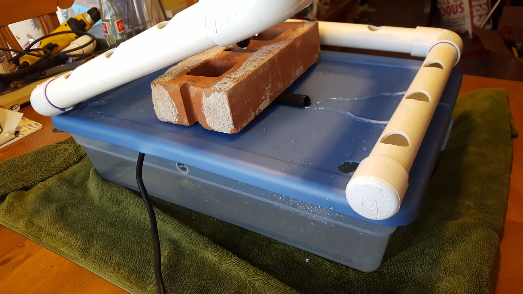 Prepare Plumbing and Assemble