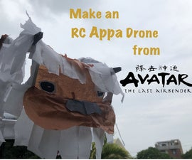 Make a Flying Appa From Avatar: the Last Airbender