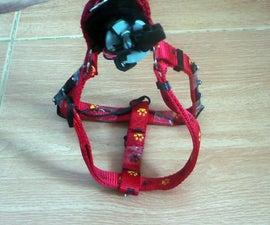 Flashing LED Dog Harness