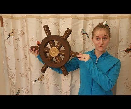 Pirate Ship Wheel Prop