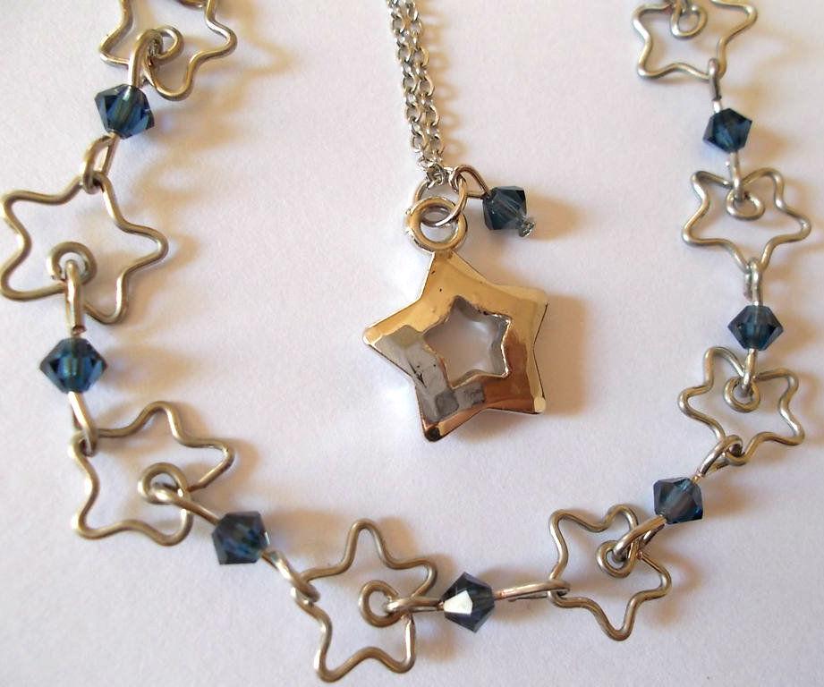 Wire Star Bracelet