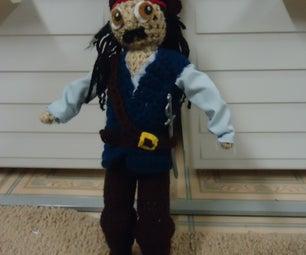 Amigurumi Photoshoot: Captain Jack Sparrow