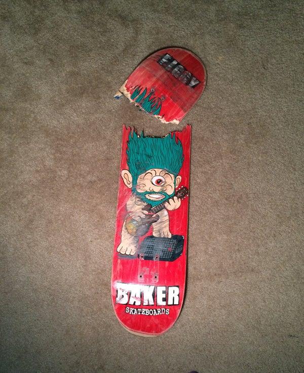 Skateboard Picture Frame