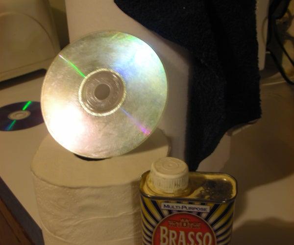 Effective CD Scratch Repair