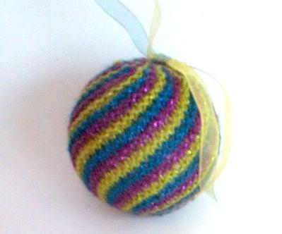 Easy Knit Swirl Ball