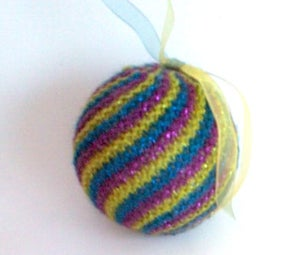 Easy Knit Swirl Ball