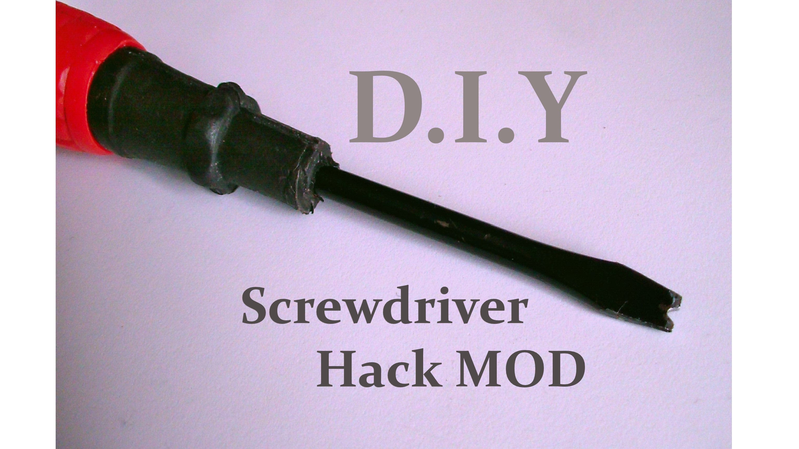 DIY Screwdriver Hack