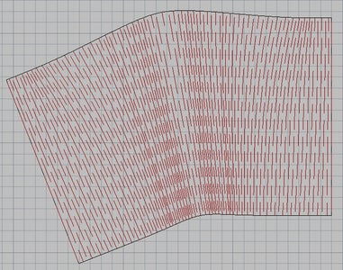 Morphing a Grid Using Curvature