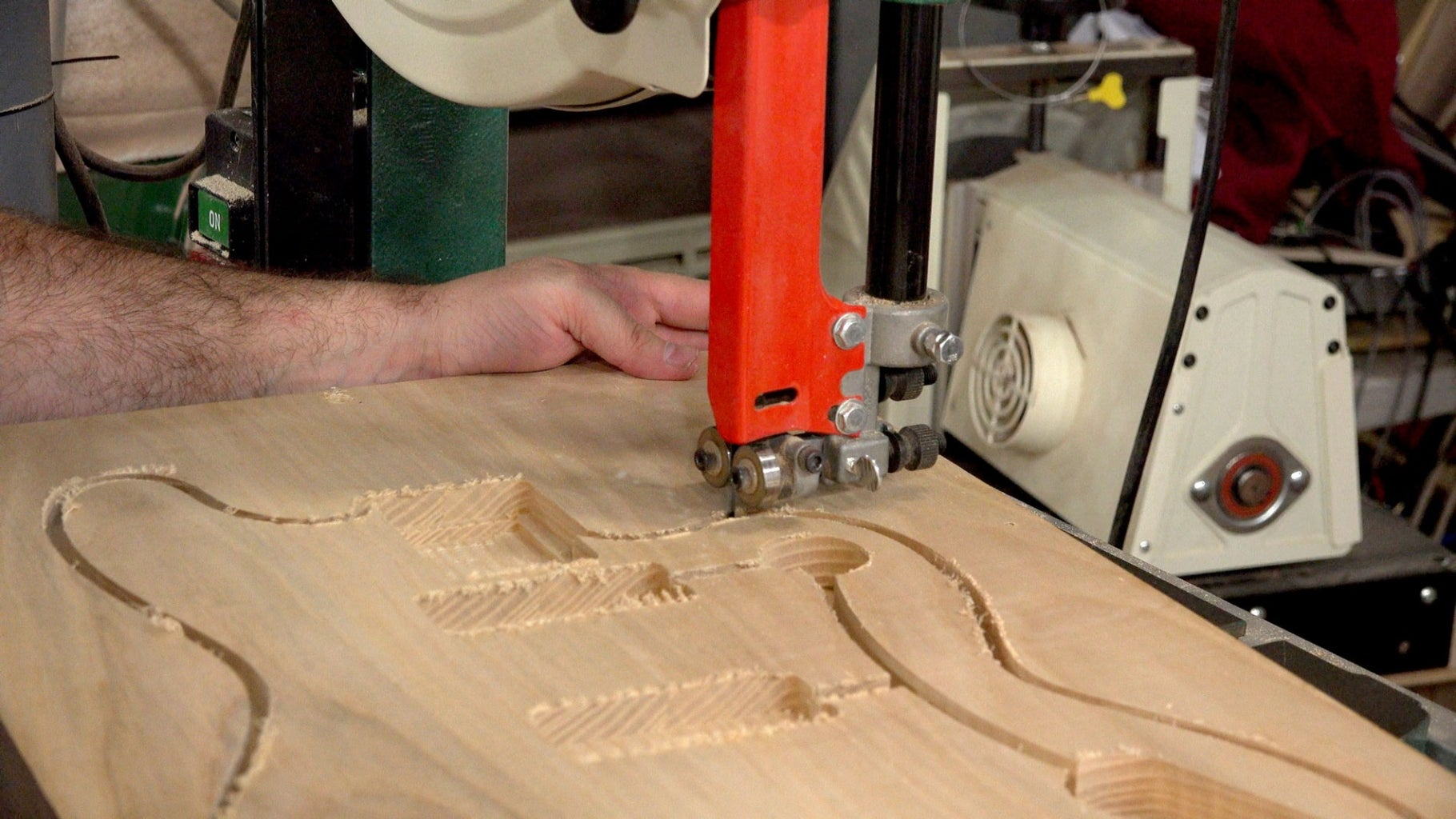 Rough Cutting on the Bandsaw