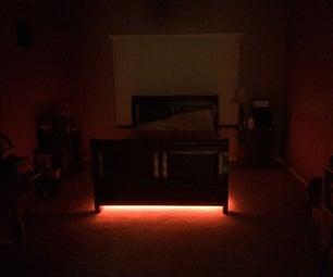Toe Saver Night Light (Auto Under Bed Light)