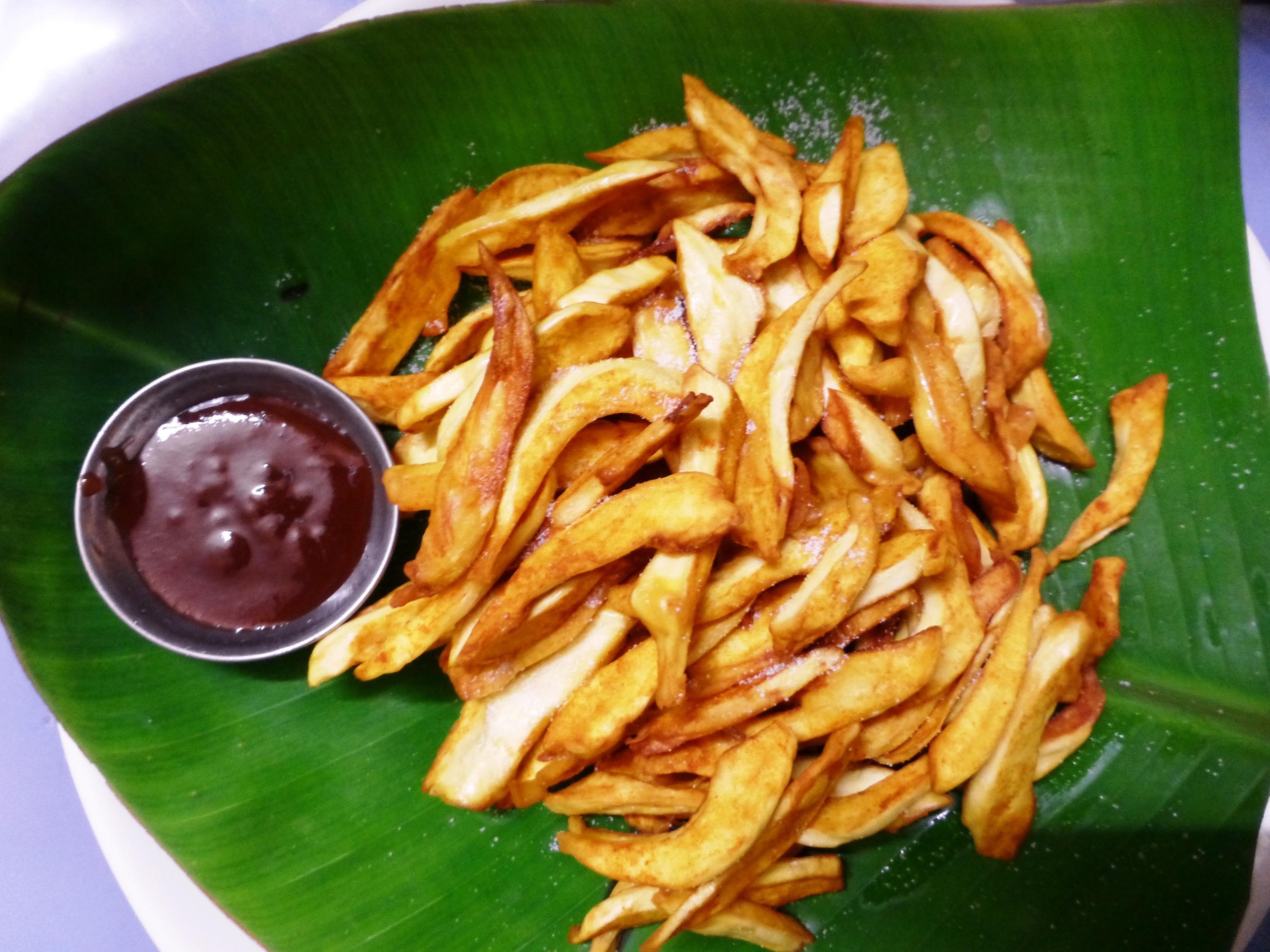 Tasty And Crispy Jackfruit Chips