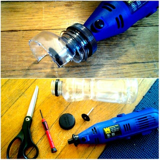 Improvised Safety Guard for Rotary Tool