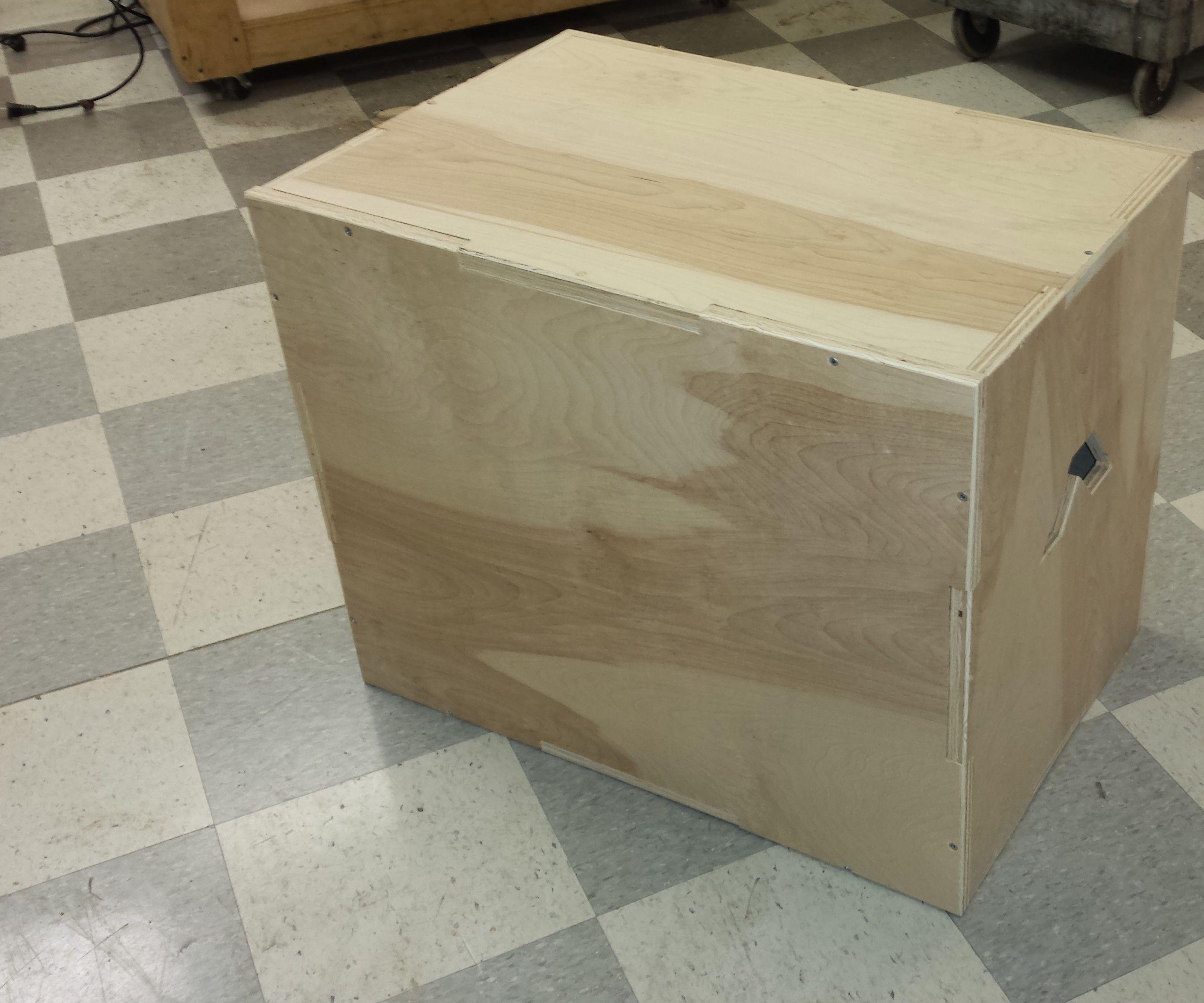 CrossFit Style Plyo Box (ShopBot!)