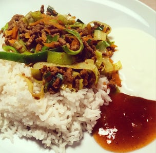 Mother's Healthy Curry Dish, 18 Min