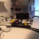 Basic Motorised Timelapse Camera Colly, Based on Lego Train