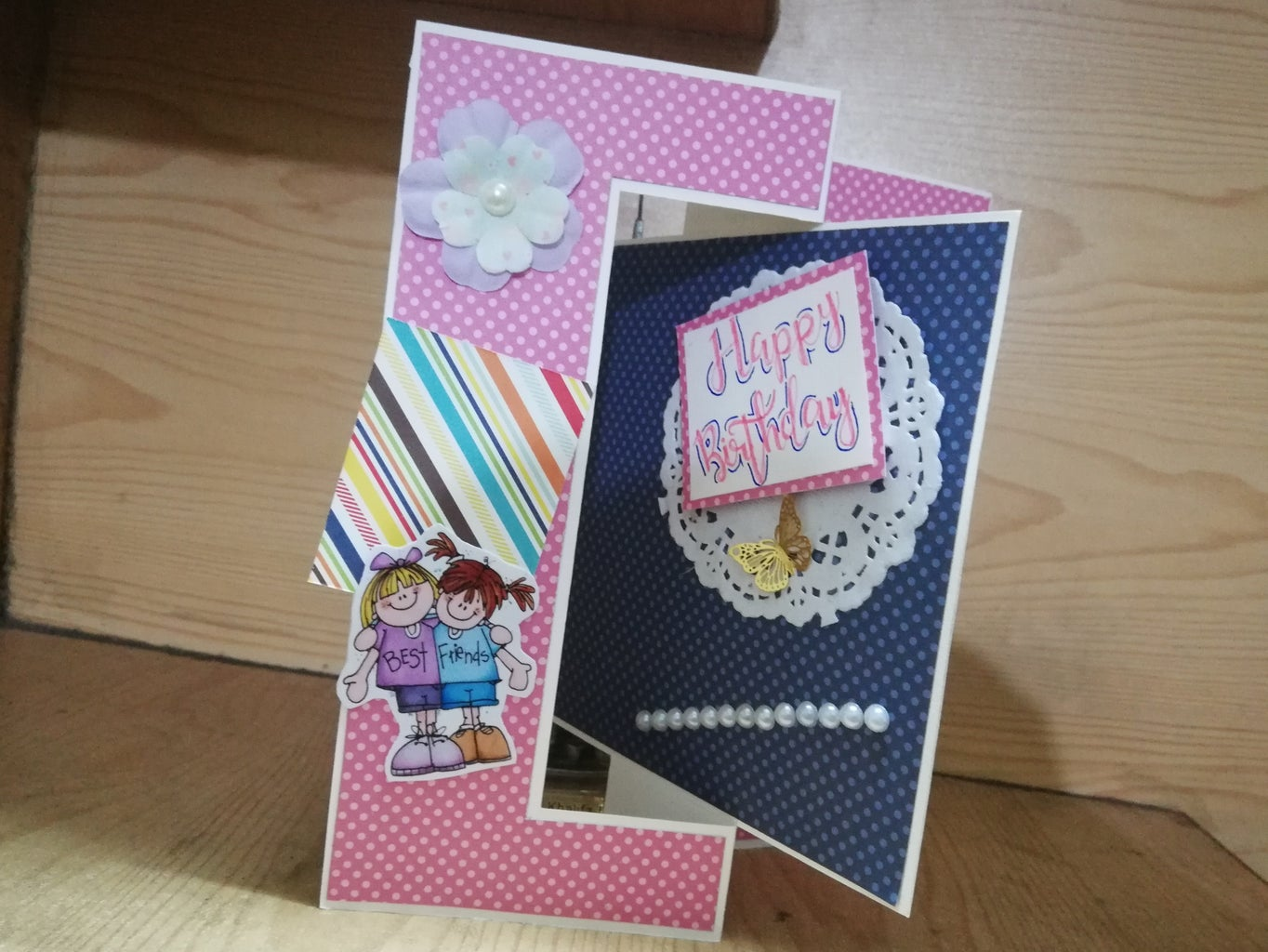 How to Make a Swing Greeting Card