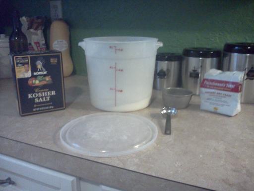No Knead Artisan Bread--FAST Recipe