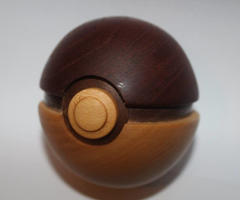 Wooden Pokeball