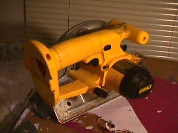 Battery Swap for Dewalt Circular Saw