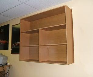 Bookshelf Hiding Old Window