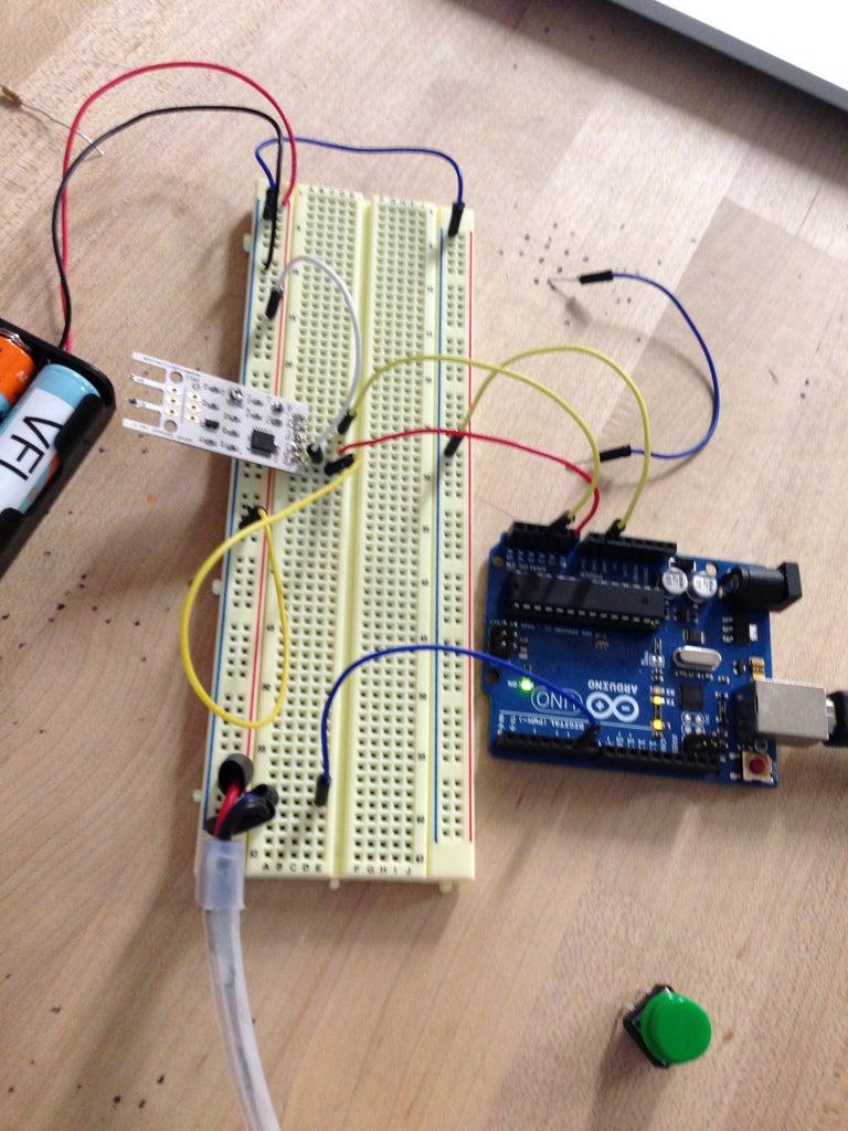 Program & Calibrate Wind Sensor