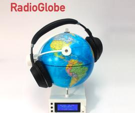 Radioglobe  - 旋转以搜索2000多个网络电台!