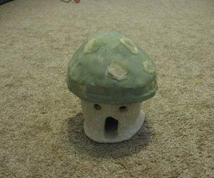 Ceramic 1UP Mushroom
