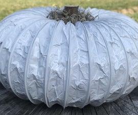 Dryer Vent Pumpkin Decoration