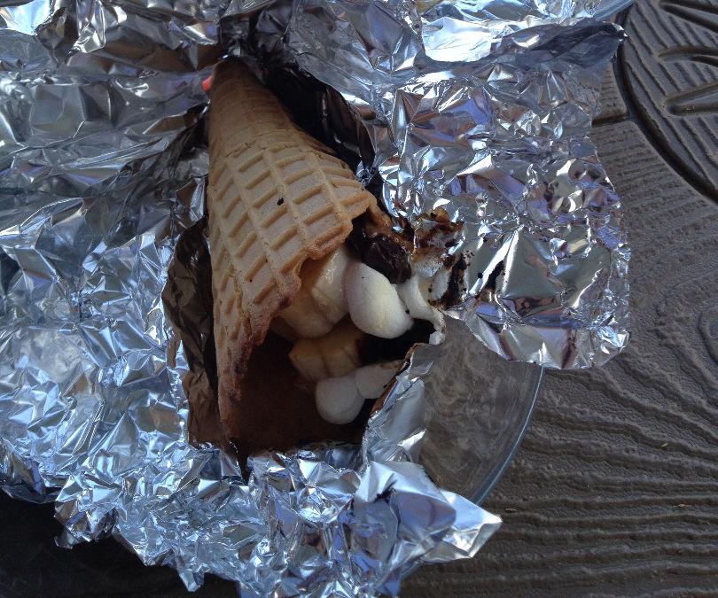 Campfire Dessert Cones