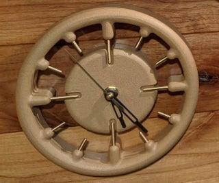 Floating 3D Printed Clock
