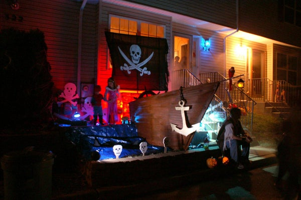 "Halloween Pirate Ship - ""Yee Must Walk the Plank!"" [PG]"