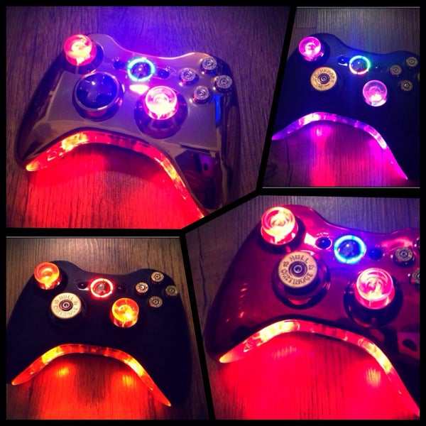 Xbox 360 Wireless Modded LED Controller