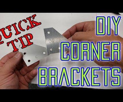 DIY 2020 Extrusion Corner Plates