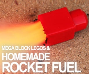 Making Rocket Fuel With Kitchen Chemistry!