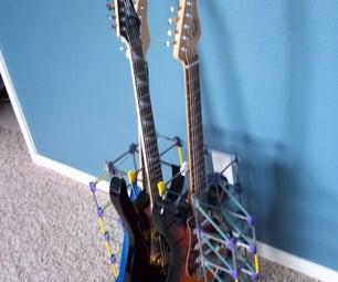 Electric Guitar Knex Stand Rack
