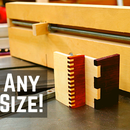 Easy Box Joints (Adjustable Tooth Widths)