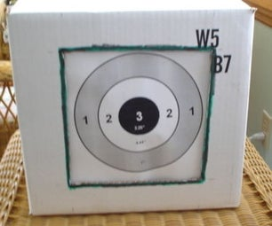 Making a Slingshot Target Holder/Ammo Catcher From a Wine Bottle Case