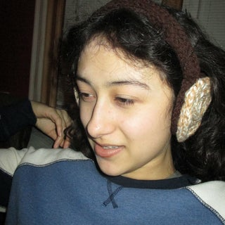 Easy French Knit Earmuff Headband