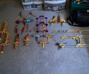 My K'nex Guns