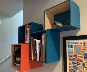 Floating Box Shelf